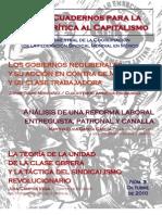 Cuadernos para la Crítica al Capitalismo #3