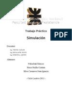 Escenario Simulacion 2011