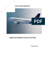 Airline Reservation