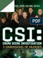 CSI-3 Dimensions of Murder Manual