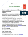 CfP Special Journal Issue on QRPM