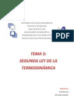 segunda ley de termodinamica