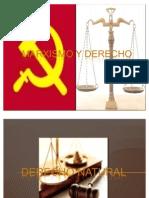 MARXISMO Y DERECHO
