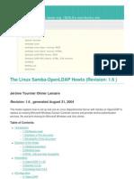The Linux Samba-OpenLDAP Howto Revision_ 1.6)