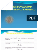 Analisis de Velocidad Metodo Grafico y Analitico