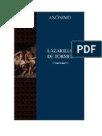 El Lazarillo de Tormes (Libro)