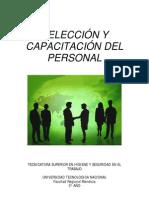 Seleccion y Capacitacion de Personalr