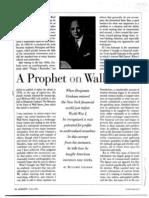 Graham - A Prophet on Wall Street
