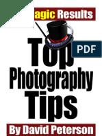 Top Photo Tips