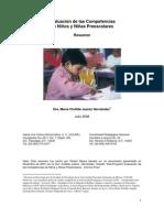 34600342 Evaluacion de Las Competencias de Ninos y Ninas Preescolares