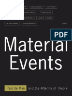 Paul de Man - Material Events