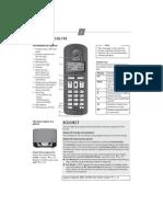 Gigaset AL140 AL145 Manual