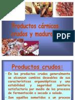 Productos Carnicos Crudos y Madurados