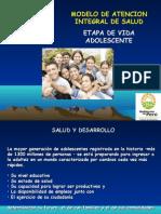 Modelo de Atención Integral de Salud_ADOLESCENTE