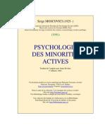Psychologie Des Minorites Actives