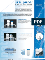 Nature Pure Product Datasheet