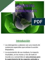 Detergentes Biodegradables