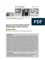 Agency, Practical Politics