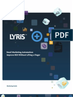 Lyris Email Automation Guide