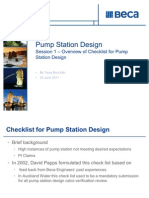 Pump Station Design Session 1