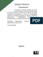 Trabajo Infantil Luis- Monografia