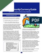 Bernard Lietaer - Community Currency Guide 1 - With Gwendolyn Hallsmith