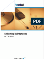 Switching Maintenance Training