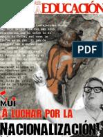 40 años de la Nacionalización del Cobre