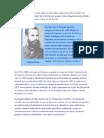 Vilfredo Pareto nació en Turín
