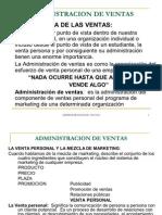 Presentacion Admin is Trac Ion de Ventas
