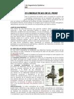 Matrices Energetic As en El Peru