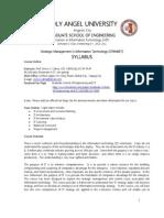 Syllabus Stramet