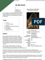 Bolsa de Valores de São Paulo – Wikipédia, a enciclopédia livre
