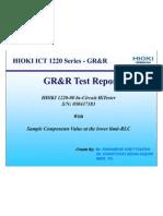 Grr of 1220-00 @Limit-RLC