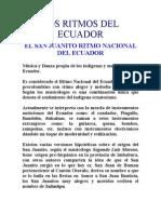 Cultura--los Ritmos Del Ecuador