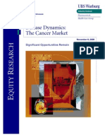 The Cancer Market - UBS - Nov00