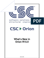 Orion v15 0 Whats New