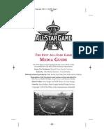 2010 All Star Game MLB Media Guide
