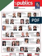 Affiche Gouvernement Fillon 2011