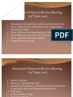 Presentation Review Meeting