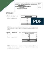 Taller Excel 3 - Funciones