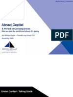 A Period of Consequence - How Abraaj Sees the World & Outlook, Dec 2008