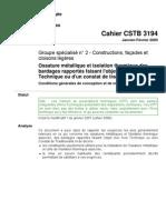 cahier CSTB_3194 - ossat métal