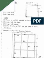 مسائل محلولة تصميم الاسقف