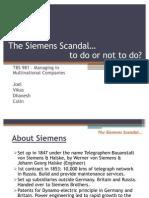 Siemens Scandal (Latest)