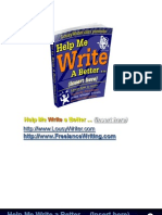 Write Better Ebook2011