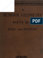 School Geometry III IV Hall