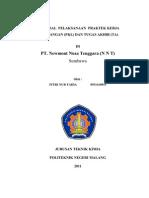 Contoh Proposal Pkl+Ta