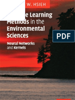 Machine Learning Methods in Environmental Sciences