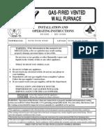 Wall Furnace